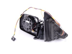 ES#83060 - 51167039901 - Mirror Assembly - Left - Black, Mirror assembly that does not include glass or cap - Genuine BMW - BMW