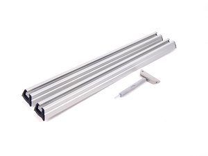 ES#1844882 - 82710443100 - Raised Carrier Bars - (NO LONGER AVAILABLE) - For the roof rack base bar system - Genuine BMW -