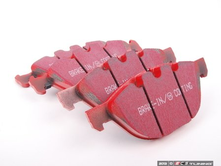 ES#2070773 - DP31994C - EBC Redstuff Brake Pad Set - Front - Provides excellent stopping power without the worry of fading - EBC - BMW