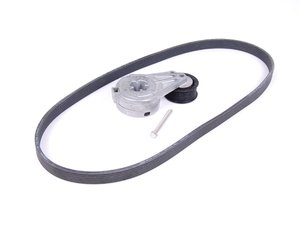 ES#11942 - 021198001 - Accessory Belt Kit - Includes belt tensioner, accessory drive belt, and bolt to install the accessory drive belt - Assembled By ECS - Volkswagen