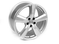 "ES#2515685 - 604-14 - 18"" Style 604 (18x8, 5x112, ET45 66.6CB) Hyper Silver - (NO LONGER AVAILABLE) - Alzor -"