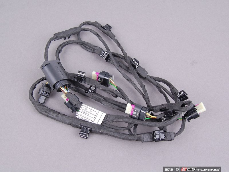 genuine bmw 61129240226 front pdc wiring harness 61 12 9 240 226 rh ecstuning com bmw e39 pdc wiring diagram bmw e60 pdc wiring fault