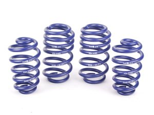 "ES#837 - 29368 - Sport Springs Set - Unrivaled comfort and performance. Average lowering of 1.7""F 1.6""R - H&R - Audi"