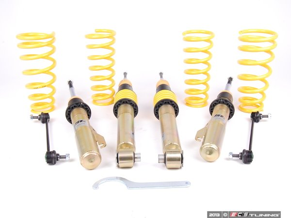 "ES#2795521 - 90215 - ST X Performance Coilover System - Fixed Damping - Height adjustable with average lowering of 1.0""-2.2""F, 1.0""-2.6""R. - Suspension Techniques - BMW"