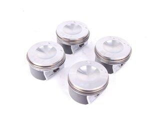 ES#2642196 - 06D107066AA - Complete Piston Set - Includes 4 pistons with rings - Genuine Volkswagen Audi - Volkswagen