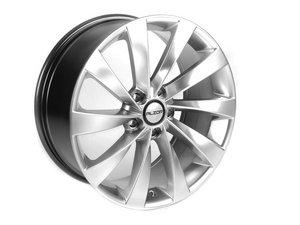 "ES#2143387 - 621-2 - 18"" Style 621 Wheels - Set Of Four - 18""x8"" ET45 5x112 - Hyper Silver - Alzor - Audi Volkswagen"