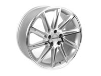 "ES#2652317 - 629-1KT2 - 19"" Style 629 Wheels - Set Of Four - 19""x8.5"" ET45 CB66.6 5x112 Silver/Machined Face - Alzor - Audi Mercedes Benz"