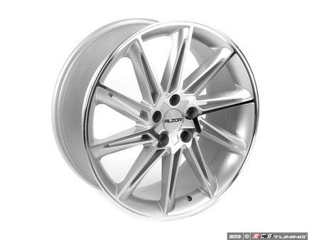 "ES#2652316 - 629-1KT - 19"" Style 629 Wheels - Set Of Four - 19""x8.5"" ET45 5x112 - Silver/Machined Face - Alzor - Audi Volkswagen"
