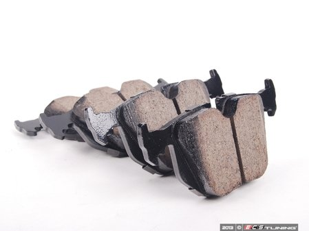 ES#205315 - EUR683 - Rear Euro Ceramic Brake Pad Set - Offers excellent pedal feedback, low dust, and smooth initial bite. A favorite among BMW enthusiasts. - Akebono - BMW