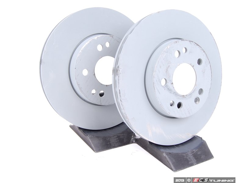 Genuine Mercedes Benz 1244212412 Front Brake Rotors Pair