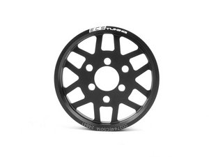 ES#2622664 - 002744ECS01A - Lightweight Power Steering Pulley - Black - Free up some hidden horsepower with this lightweight pulley - ECS - Volkswagen