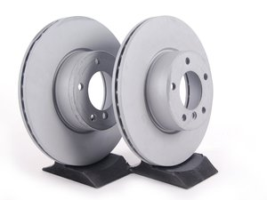 ES#2603256 - 34116855006kt3 - Front Brake Rotors - Pair (312x24) - A pair of replacement rotors - Zimmermann - BMW