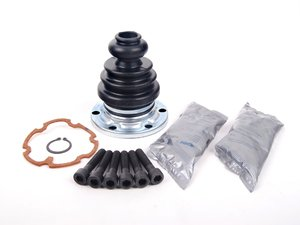 ES#1485 - 443498201B - Inner C/V Joint Boot Kit - Priced Each - Complete boot kit with hardware and grease - GKN Drivetech - Audi