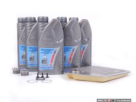 ES#2523323 - 24341422513 - Automatic Transmission Service Kit - Level 2 - Includes all the necessary components for a complete transmission service - Assembled By ECS - BMW