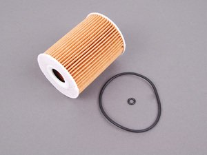 ES#2586729 - 6421800009 - Oil Filter Kit - Priced Each - Includes all needed o-rings for installation - Mahle - Mercedes Benz