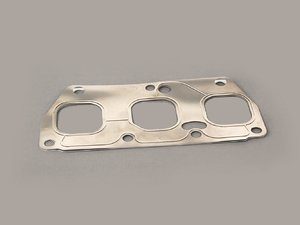 ES#5962 - 022253050C - Exhaust Manifold Gasket - Gasket between cylinder head and cylinder 4-6 exhaust manifold - Elring - Audi Volkswagen