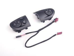ES#2590704 - 32309289676 - Multifunction Steering Wheel Pads/ Wires Black - Priced As Set - Upgrade your blank steering wheel pads to multi or black - Genuine MINI - MINI