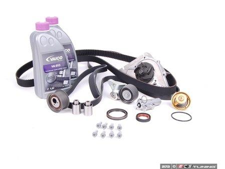 ES#8009 - 077198504 - ECS Tuning Timing Belt Kit - Ultimate Plus - The ultimate 23 piece kit for preventative maintenance! - Assembled By ECS - Audi