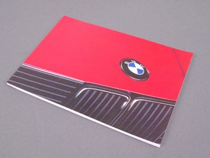 ES#13330 - 01479783809 - E30 Owner's Manual - 1991 - Full of useful information and specifications - Genuine BMW - BMW