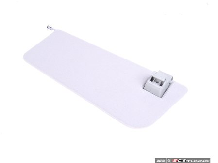 ES#1766907 - 21181006107F85 - Sun Visor Double Cover - Right Side - Orion Grey (Color Code 7F85) - Genuine Mercedes Benz - Mercedes Benz