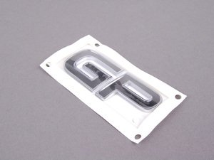 ES#79345 - 51147183831 - JCW GP Trunk Letters - The GP trunk letter that mount on the left side. - Genuine MINI - MINI