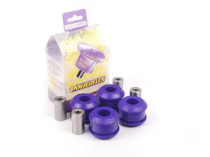 ES#2651917 - PFF3-203x4 - Front Upper Control Arm Bushing Set - Inner - Street - Improves handling and control - Upgrade to a more engaging driving experience - Powerflex - Audi Volkswagen