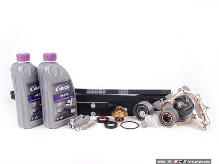 ES#2137116 - 078198674-1 - ECS Tuning Timing Belt Kit - Ultimate Plus - The most comprehensive timing belt kit on the market! Includes cam locking tool. - Assembled By ECS - Audi