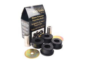 ES#2650111 - PFR5-425Bx2 - Race Polyurethane Rear Differential Bushings - Front Position Set - Transmit more power to the ground and eliminate driveline slop - Powerflex Black Series - BMW