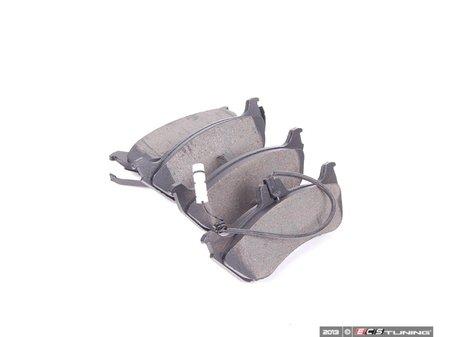 ES#2608759 - 1634201420 - Rear Brake Pad Set - Includes brake pad wear sensor - Bosch - Mercedes Benz
