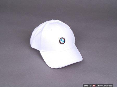 ES#2080850 - 80162208704 - BMW Emblem / Roundel Cap  - White - Genuine BMW - BMW