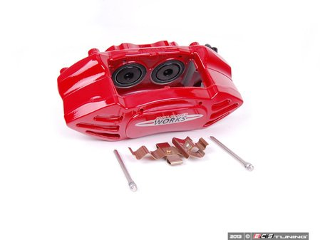 ES#2596873 - 34106856651 - JCW 4 Pistion Caliper - Front Left - Part of the JCW red sport brakes - Genuine MINI - MINI