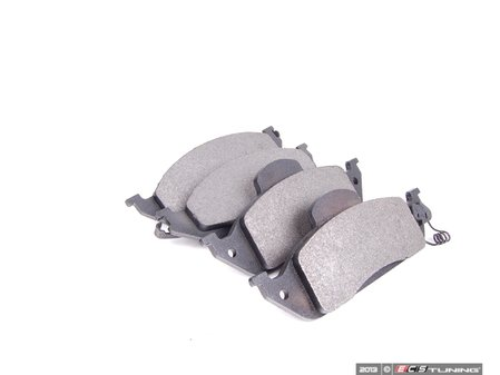 ES#2588477 - 1634201220 - Front Brake Pad Set - Includes new brake pad wear sensor - Bosch - Mercedes Benz