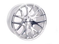 "ES#2702522 - 3S1991C - 19"" 0.01 - Set Of Four - 19""x9.5"" ET40 5x112 - Silver/Cut - 3SDM - Audi Volkswagen"