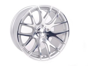 ES#2631473 - 3S1991C - Style .01 19x9.5 5x112 Et40 In Silver With Polished Face - Single style one wheel, with polished face - 3SDM - Audi Volkswagen