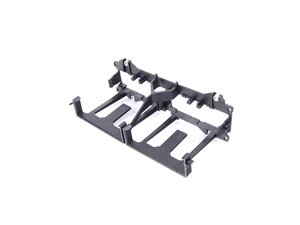 ES#1490787 - 99655235100 - Cup Holder Retaining Frame - Secures the cup holder assembly into the dashboard - Genuine Porsche - Porsche