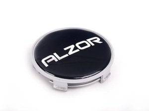 ES#2158229 - 1009SIL-A - Alzor Center Cap - Silver With Black Sticker (68mm) - Originally installed on the Alzor 716 - Alzor - BMW