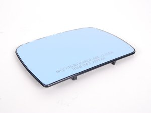 ES#87726 - 51168408810 - Heated Mirror Glass - right - Replacement mirror glass with blue tint - Genuine BMW - BMW