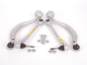ES#2598842 - 31121092609KT1 - Front Suspension Refresh Kit - Level 1 - Control arms, bushings, and hardware for a partial front suspension rebuild - with Lemforder components - Lemforder - BMW