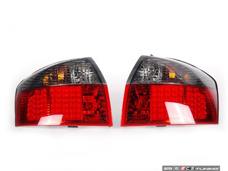 ES#2636086 - FKRLXLAI053 - LED Tail Light Set - Red / Smoked Clear - Upgrade your exterior looks - FK - Audi