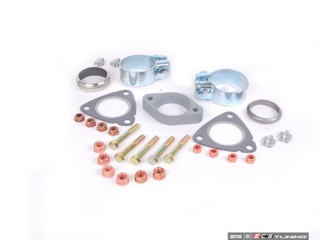 ES#2587389 - 18301744162INKT - Downpipe/Catalytic Converter Installation Kit - Everything you need to get the job done - Assembled By ECS - BMW