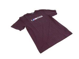 ES#2643893 - 80142344017 - Ladies BMW ///M T Shirt - Small  - I ///M Fan Logo  - Genuine BMW - BMW