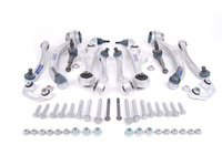 ES#250814 - 4B3498510Cmy - Heavy Duty Complete Front Control Arm Kit - Includes all front control arms and hardware - plus heavy duty tie rod ends and sway bar end links! - Meyle HD - Audi Volkswagen