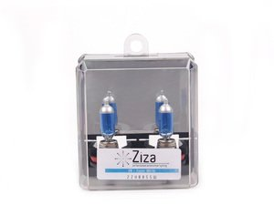 ES#2526575 - ZZH8BSSWa -  H8 Super White Bulb - Pair - Similar to 6000k HID color, increase intensity & visual appeal with a light blue hue - ZiZa - Audi BMW Volkswagen MINI Porsche