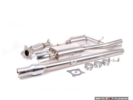 "ES#3137022 - fpim-0289KT - Turbo-Back Exhaust System - Fully polished 3"" system with with dual 3.5"" round tips - Billy Boat Performance - Volkswagen"