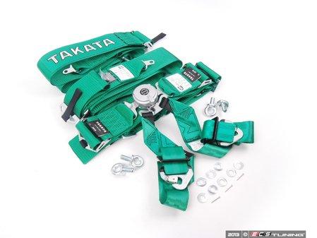 ES#2678435 - 72004US-H2 - Takata Race 6 SFI - 6pt Snap-On  - Green - Takata - Audi BMW Volkswagen Mercedes Benz MINI Porsche