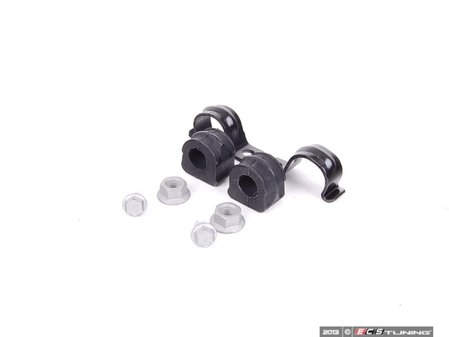 ES#2592661 - 1J0411314PKT2 - Front Sway Bar Installation Kit - Includes new bushings, brackets and hardware to keep your sway bar working properly - Assembled By ECS -