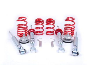 "ES#1303222 - 29201-3 - Street Performance Coilover Kit - Unrivaled comfort and performance. Average lowering of 1.2""-2.1""F 1.0""-2.0""R - H&R - Audi"