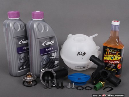 ES#2680940 - 06A121132APKT4 - Coolant System Refresh Kit - Level 3 - Replace critical cooling system components and perform a proper coolant system flush! - Assembled By ECS - Audi