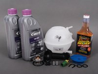 ES#2680927 - 1J0121403BKT3 - Cooling System Refresh Kit - Level 2 - Replace your thermostat, temp sensors, and expansion tank after performing a proper coolant system flush! - Assembled By ECS - Audi