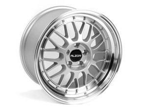 ES#2678512 - 881BKT3 - 18 Style 881 Wheels - Set Of Four - 18x9.5 ET40 5x112 - Silver with 2.75 Machined Lip - Alzor - Audi Volkswagen
